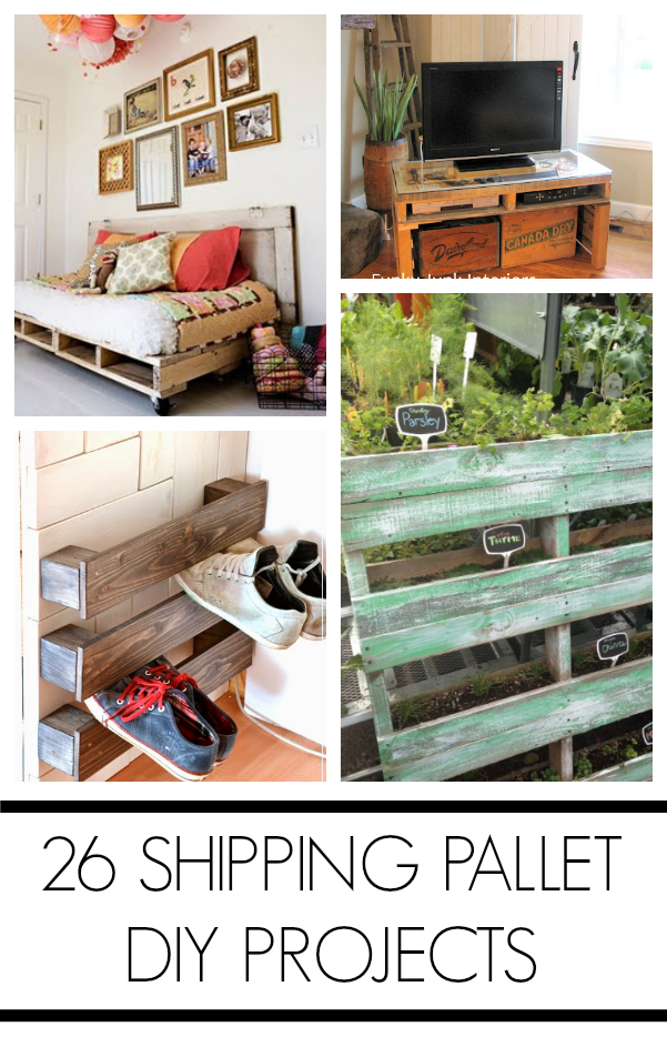 Shipping pallet projects