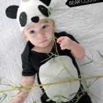 Panda bear baby costume {cute baby costumes}