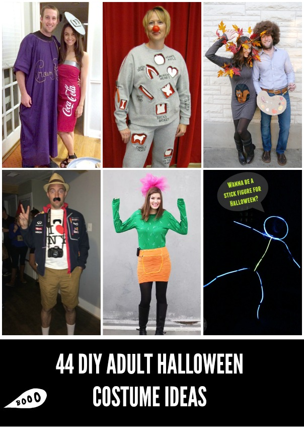 44 diy adult halloween costumes