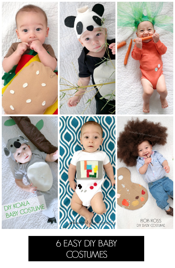 Homemade Halloween costumes for babies  sc 1 st  Creating Really Awesome Fun Things : baby costume diy  - Germanpascual.Com