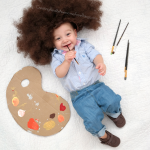 DIY Bob Ross costume