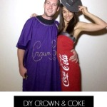 Crown and Coke Couples Costume