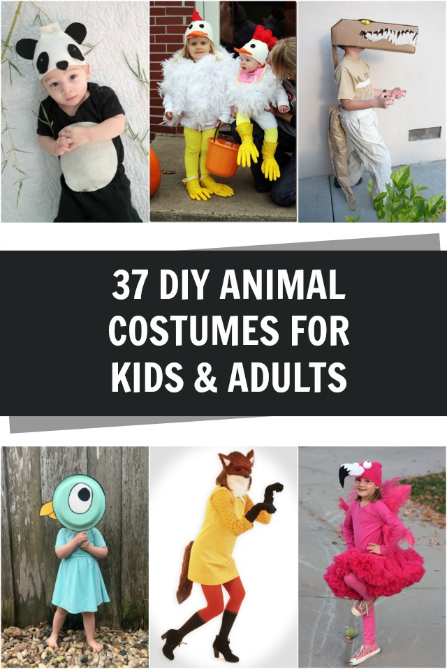 37 homemade animal costumes craft diy animal costumes for kids and adults solutioingenieria Images