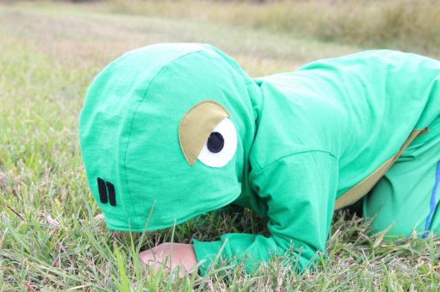 DIY Lizard costume for kidsDIY Lizard costume for kids