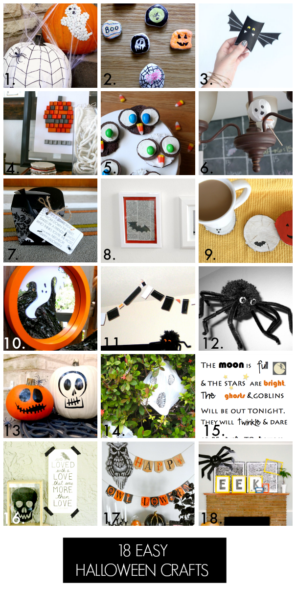 18 Halloween crafts for kids!