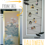 Halloween craft {Photo display}