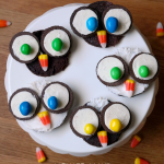 How to make owl brownies