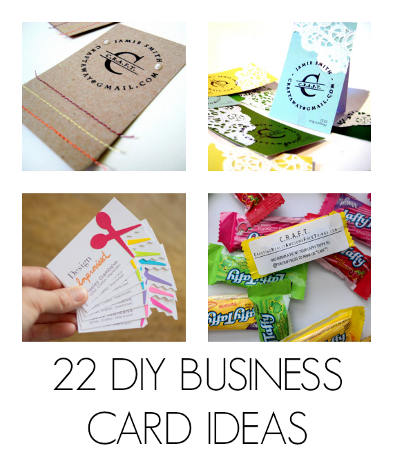 Diy business cards c r a f t for Home craft business ideas