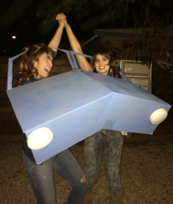 DIY Thelma and Louise costumes
