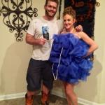 My friends are crafty! {Homemade Halloween costumes for adults}