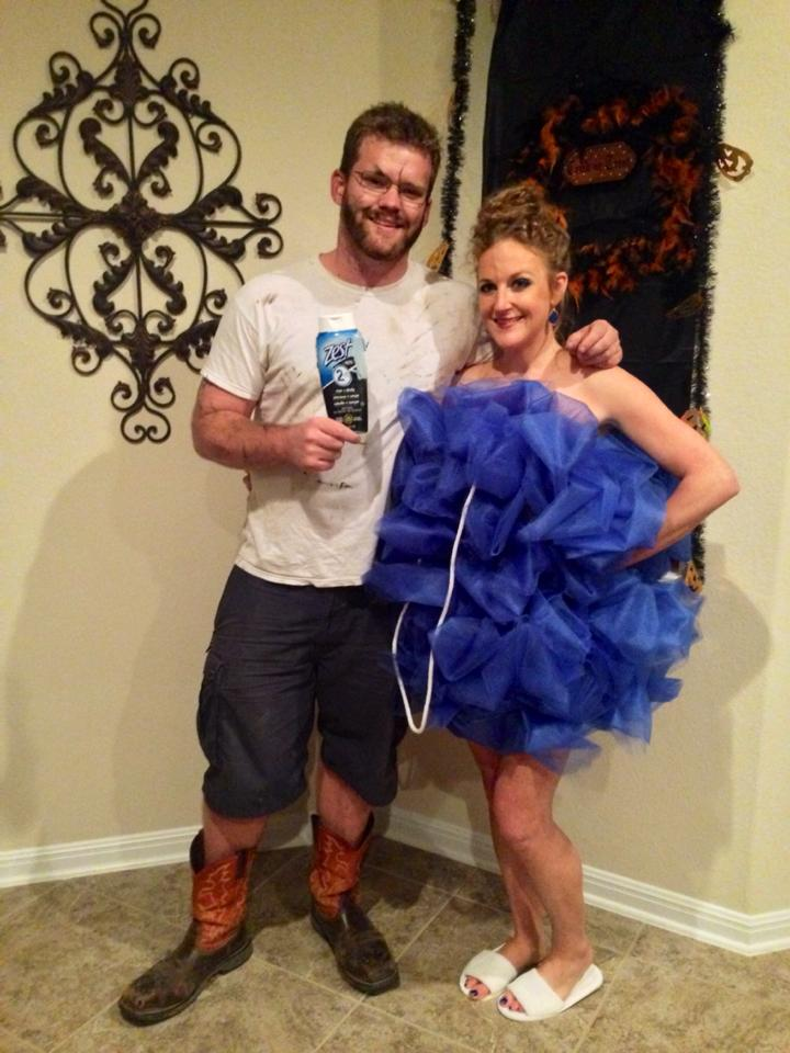 diy couple costume ideas - Pregnant Halloween Couples Costumes