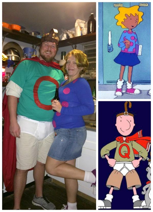 Halloween 2014 {DIY Halloween costumes} - C.R.A.F.T. Quailman And Patty Mayonnaise