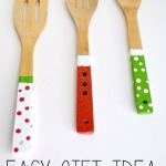 Homemade Gift Ideas: Painted Wooden Spoons