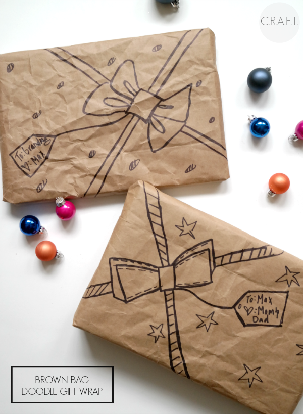 24 gift wrapping ideas c r a f t for How to wrap presents with wrapping paper