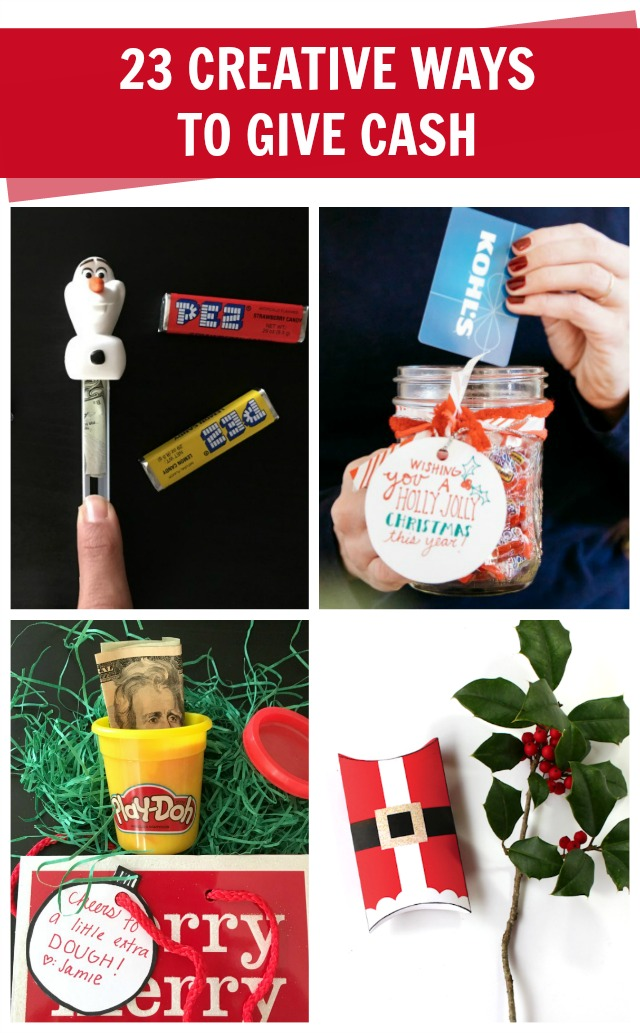 Creative Christmas Gifts.How To Give Money Creatively C R A F T