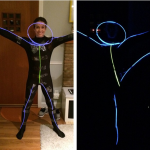 DIY Stick Figure Costume