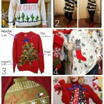 32 DIY Ugly Christmas Sweaters