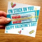 Band Aid Valentines