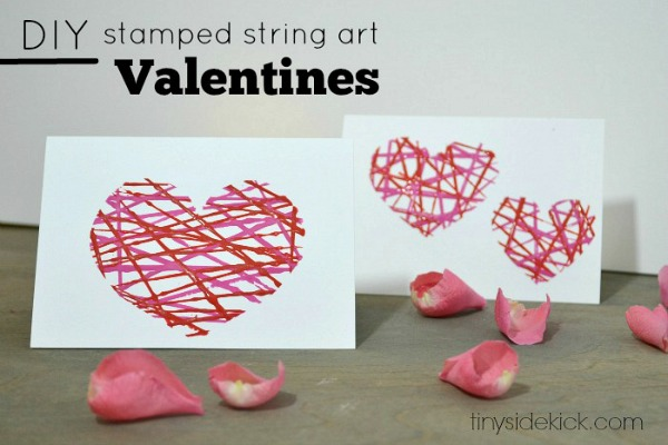Valentine crafts Easy string art  CRAFT