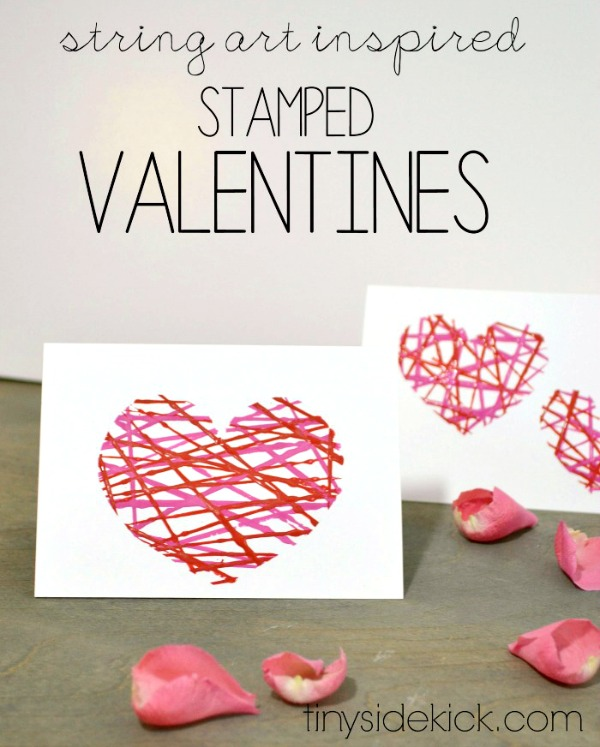 valentine crafts easy string art c r a f t. Black Bedroom Furniture Sets. Home Design Ideas