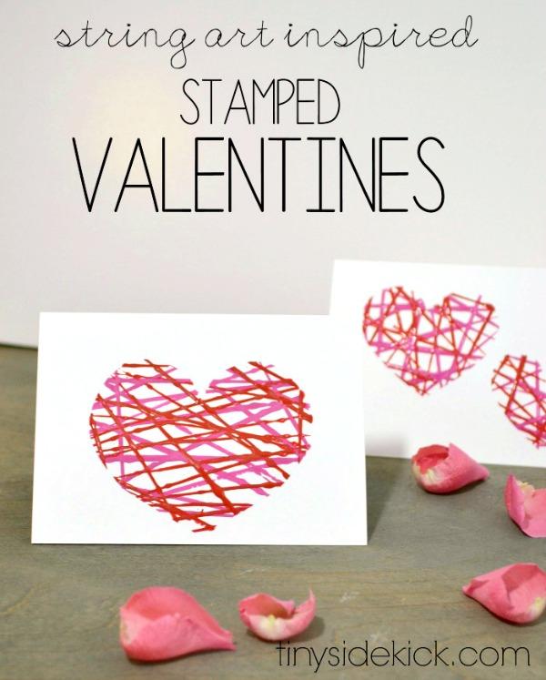 Facile Valentine artisanat pour enfants