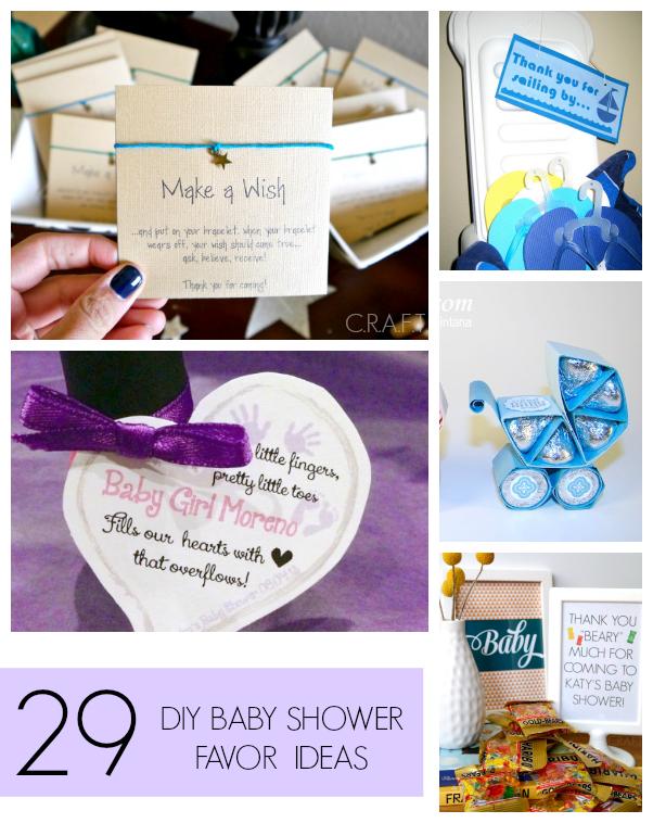 29 DIY Baby Shower Favors