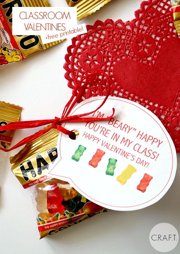"""Beary"" cute valentine card ideas"