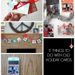 11 uses for old Christmas cards