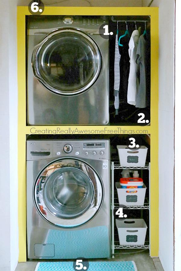 Tiny laundry room ideas
