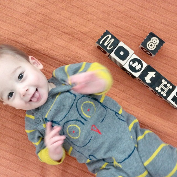 Maxwell 8 months