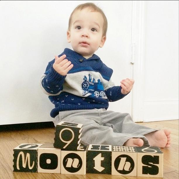 Maxwell 9 months
