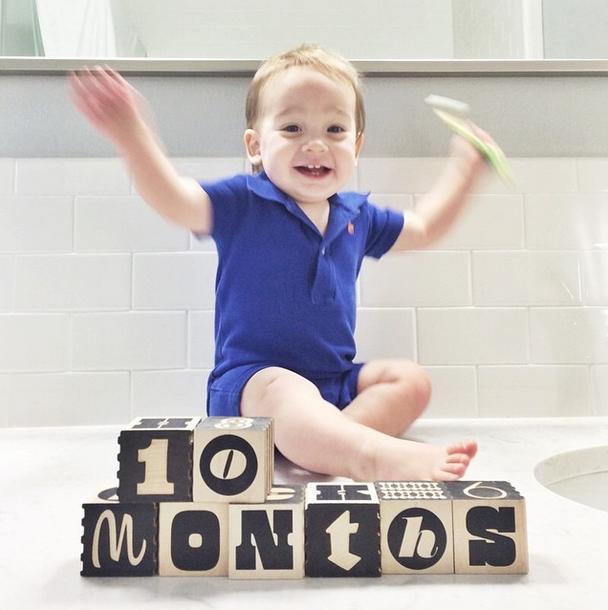 Maxwell 10 months
