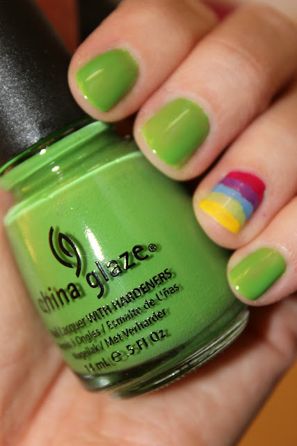 St. patricks day nails