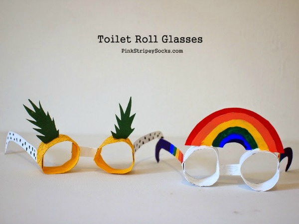 pineapple glasses craft for kids