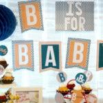 Book inspired baby shower