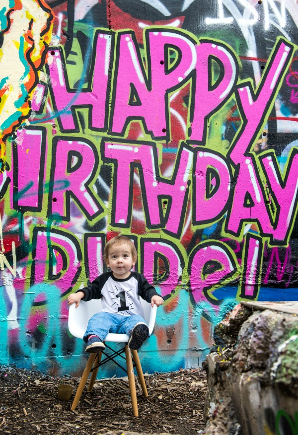 Maxwell 1st birthday