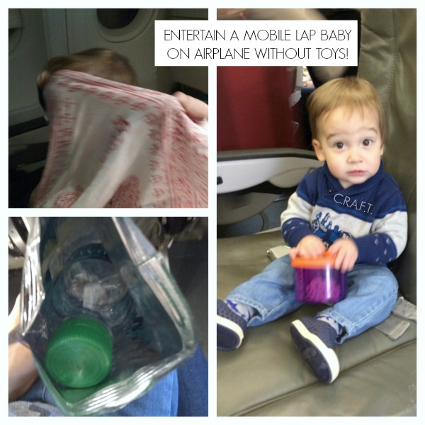 Tips for traveling with a mobile baby via airplane