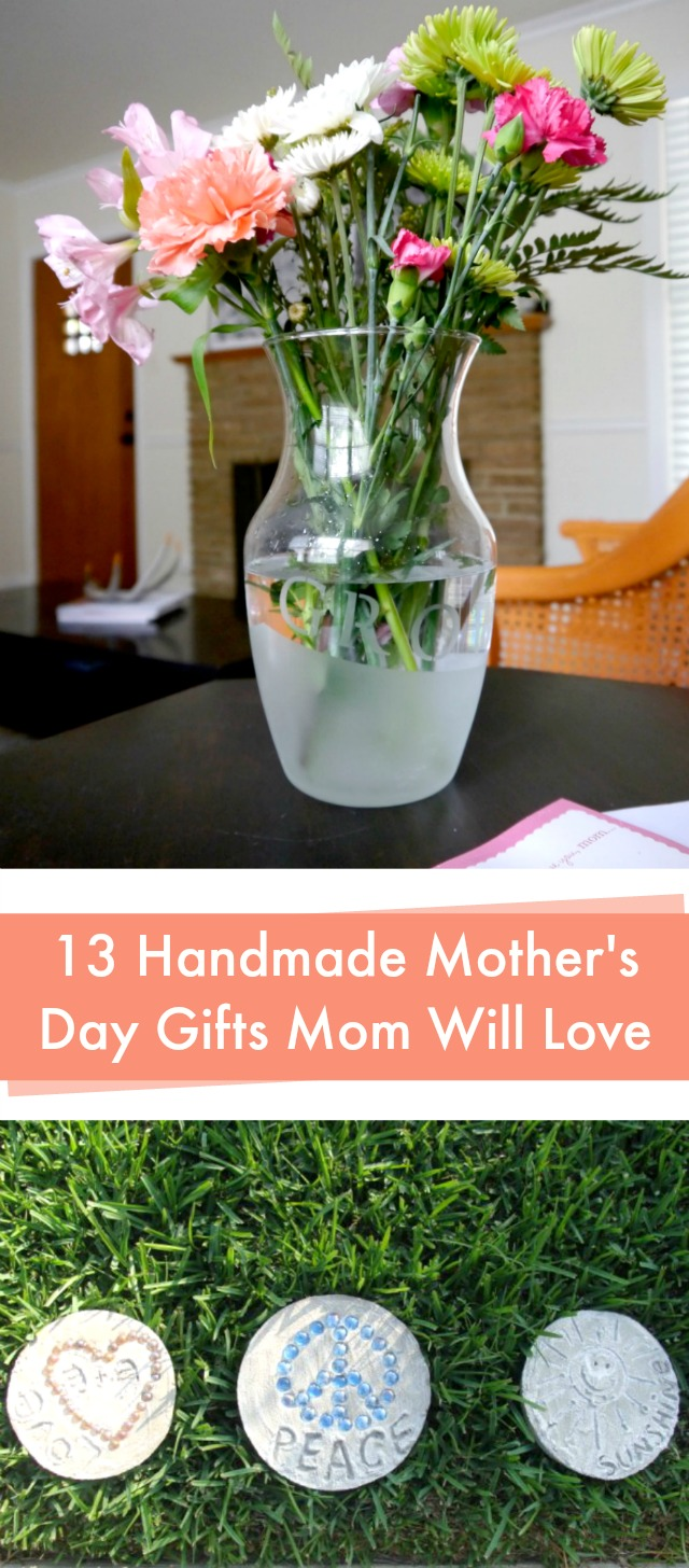 13 handmade Mother's Day gifts that mom will love!