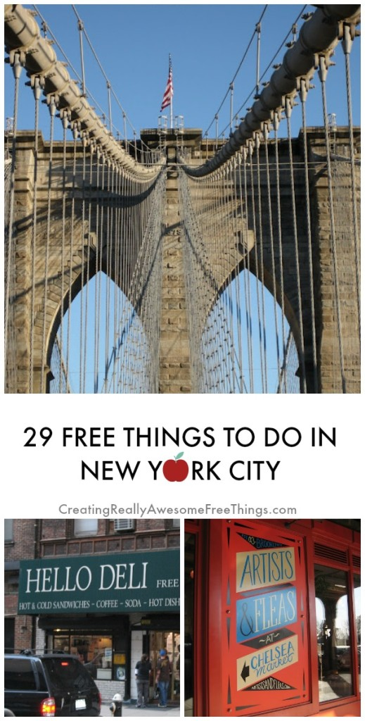 Free things to do in new york city c r a f t for Fun places to go in the city