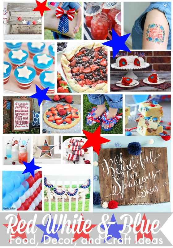 Tons of 4th of July craft ideas!