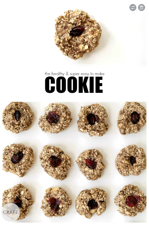 How to make healthy oatmeal cookies