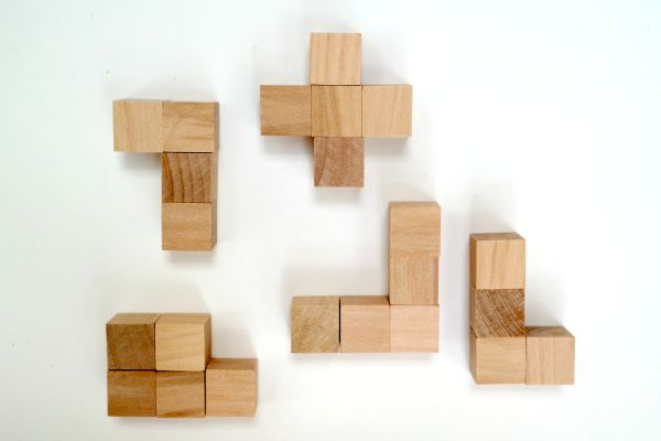 How to make a 3D puzzle cube kit