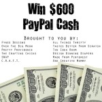 GIVEAWAY: $600 Cash!