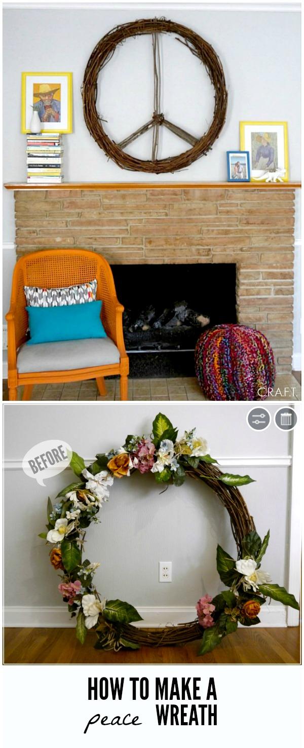 How to make a wreath!
