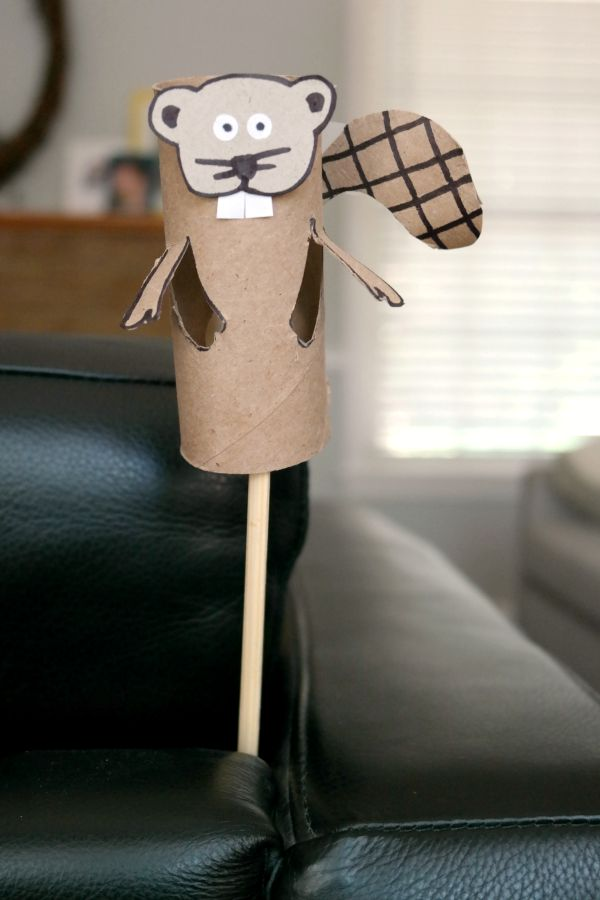 Cat toilet paper roll crafts c r a f t for Toilet roll puppets