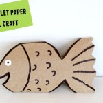 Fish: Toilet paper roll crafts