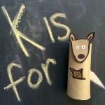 Kangaroo: Toilet Paper Roll Crafts