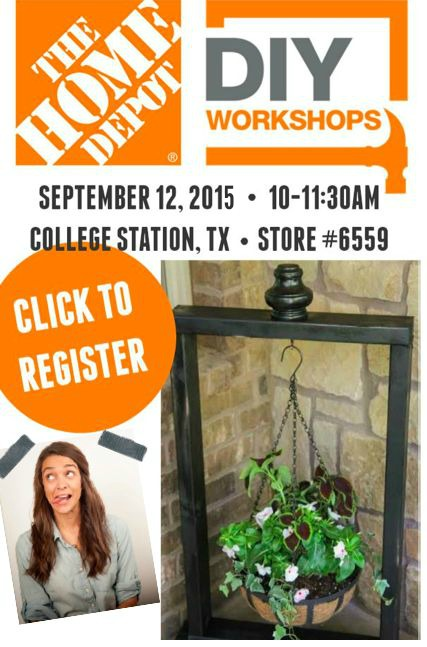 The Home Depot DIY Workshop: Vertical Planter