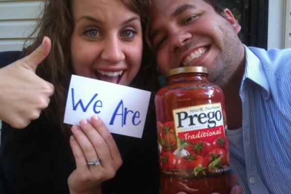 Pregnancy annoucement ideas