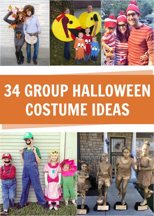 34 Group Halloween costume ideas